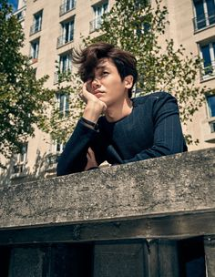 Hyungsik (ZE:A) - Elle Magazine October Issue '15