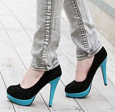 Online Inquire spring new arrival fashion color block scrub womens shoes decoration platform high,heeled shoes plus size small single Y008