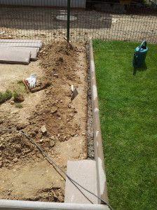 1000 id es sur le th me bordure de jardin beton sur pinterest for Bordure ciment pour jardin