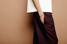 Black Full Circle of Life bangle // look book shot by Mous Lamrabat and styled by Lisa Lapauw