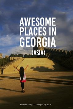 Awesome Places in Georgia (Asia) One day in September, I feel like the mountains, rivers, seas, lakes and waterfalls are calling me. I feel like going home; but work and other circumstances wouldn't allow me to have enough time.