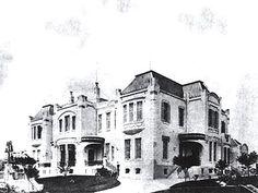 Edifício Vila Penteado, que hoje abriga a pós-graduação da FAU, na época em que ainda era a casa dos Penteado (foto: Arquivo Condephaat)