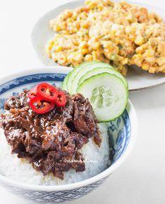 Daging smoor Slow Cooker Recipes, Crockpot Recipes, Food Blogs, Food Inspiration, Meat, Ethnic Recipes, Om, Friends, Amigos