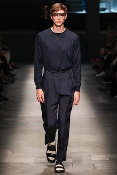 Ermenegildo Zegna Spring 2015 Menswear - Collection - Gallery - Look 1 - Style.com