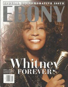 Ebony magazine Whitney Houston Special issue Vernon Davis Style and fashion   eBay