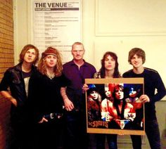 He did it! The Struts with Hama Beads