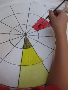 painting color wheels