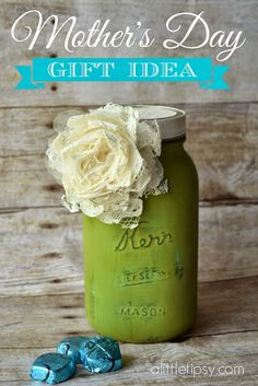 Easy Mother's Day Gift Idea - A Little Tipsy