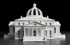 On view Oct. a new exhibition from the Chrysler Museum of Art titled Thomas Jefferson, Architect: Palladian Models, Democratic Principles and the Conflict of Ideals will explore this divergence alongside his extraordinary architectural influence. National Gallery Of Art, National Portrait Gallery, Architecture Artists, Architecture Design, Andrea Palladio, Norman Lewis, Chrysler Museum, Rare Images, University Of Virginia