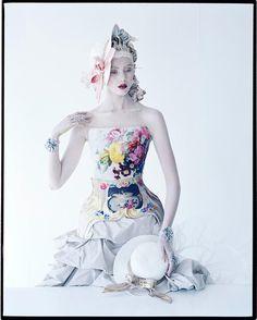 Frida Gustavsson London, UK American Vogue January 2012