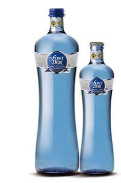 Agua mineral natural, con gas, zumos o nectares Vichy Catalan