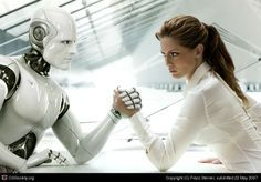 Humans vs Machine, you can see this slowly happening in the world, It happened to GM and more. Technology is in and everyone knows its beneficial.
