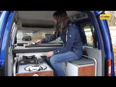 Minicamper Reimo Active auf VW Caddy - YouTube