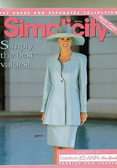 1998 SIMPLICITY STORE CATALOG Store Counter Display  PATTERNS 90's Fashion | eBay
