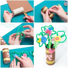 Diy Projects, Spring, Handmade Crafts, Diy Crafts