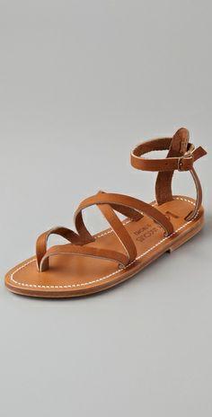 Sandals at ShopBop.com (c) K. Jacques Epicure Crisscross Strap Sandals $252.00