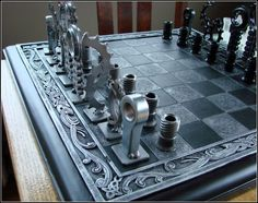 unusual chess 13 Checkmate! Top 10 most unusual chess sets unusual chess sets DESIGN CREATIVITY chess ART