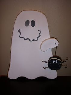 Cheeky Bandit Crafts: Ghost and friend