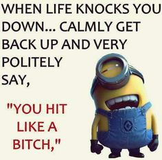 Funny minions images with quotes PM, Wednesday October 2015 PDT) - 10 pics - Minion Quotes Funny Minion Memes, Minions Quotes, Funny Jokes, Minion Humor, Sarcastic Humor, Funny Sayings, Funny Shirts, Minions Images, Minions Love
