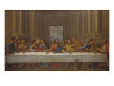 Leonardo Da Vinci, La última cena (Nuevo Testamento)