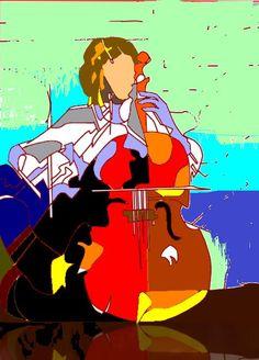 painting cellos - Google zoeken