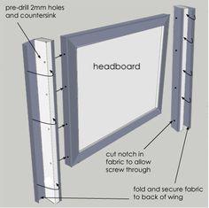 Home-Dzine - DIY wingback headboard! I NEED a wingback headboard for our room!