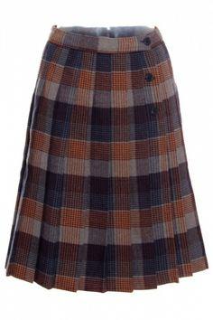 Falda de cuadros de segunda mano en ropasion.com