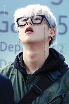 Thick glasses and Jooheon