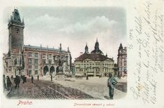 Oldtown Square, 1902 | Prague