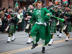 Fête de la Saint Patrick dans le monde en photos