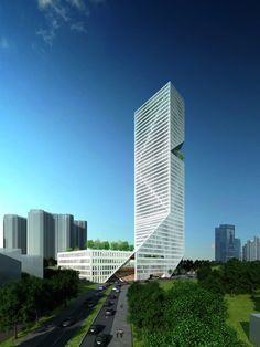 Shenzhen Interchange Tower Designed By WORKac - [Click on Image Or Source on Top to See Full News]