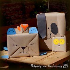 Balení dárků pro děti