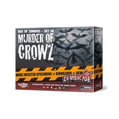 Zombicide Set #8 - Murder of Crowz - Cards @ niftywarehouse.com #NiftyWarehouse #Zombie #Horror #Zombies #Halloween