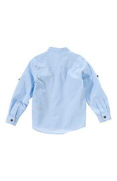 Super fede Name it Skjorte Herbert kids ls shirt Blå Grå Name it Skjorter til Børn & teenager i behagelige materialer