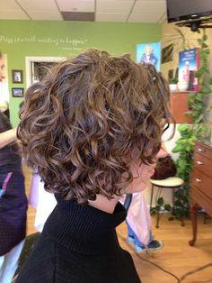 Easy Short Curly Hair