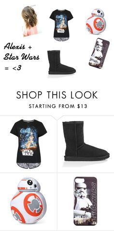 """""""Alexis' pajamas"""" by adara-omgg-laceup on Polyvore featuring interior, interiors, interior design, home, home decor, interior decorating, Topshop, UGG Australia and ThinkGeek"""