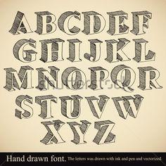 alfabetos caligraficos - Buscar con Google