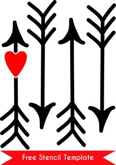 silhouette outline of an arrow - Yahoo Image Search Results Valentines Day Shirts, Valentine Day Crafts, Be My Valentine, Valentine Ideas, Silhouette Cameo Projects, Silhouette Design, Vinyl Crafts, Vinyl Projects, Heart With Arrow