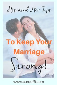 Check out this awesome list of tips to keep your marriage strong! My favorite is #8 - how important!