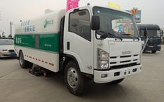 multifunctional street sweeping truck