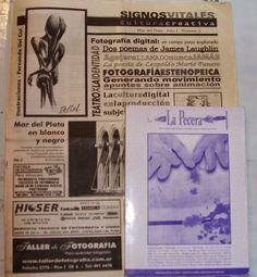 """Mis micros """"Becerro"""" y """"Alguna danza milenaria""""  Publicados en    """"Signos Vitales"""", periódico cultural argentino Director. Osvaldo Picardo Mar del Plata, 2003 --------------------------- Del mismo modo, los micros  """"Condenados"""", """"Becerro"""" e """"Interpretación""""  se publican en  La Pecera, revista/libro   año III, edición n° 5, 2003,   Mar del Plata, Argentina  Editor General: Ricardo Martín  Director: Osvaldo Picardo  Patricia Nasello microrrelatos: Publicaciones en Argentina"""
