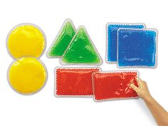 Gel-Bead Sensory Shapes at Lakeshore Learning