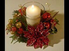 Centrotavola natalizio: semplice ma raffinato!