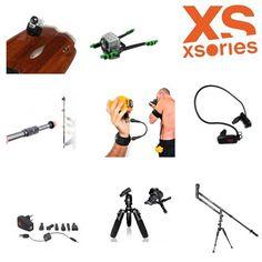 Les accessoires Xsories sont dispo au shop !  KITE LINE MOUNT, Fixation pour gropro, Perche télescopique, Grue téléscopique, Lecteur MP3 étanche, LEASH pour poignet ou bras, fixation aileron KITE FIN,...  http://basenautique.glissevolution.com/accessoires-gopro-photo-et-video-xsories/