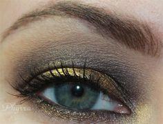 Goldilux Espresso Tutorial with @Ashlee Frazee Cosmetics & @Sugarpill Cosmetics Cosmetics #vegan #crueltyfree #beauty #makeup #brown #gold #tutorial