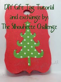 Crafty Jac: Holiday Gift Tag Exchange and tutorial!