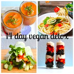 spring cleaning | 14 day vegan detox bikini season is upon, folks. time to clean it up + slim it down. follow these rules + recipes for guar...