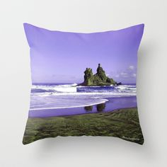 Buy Benijo beach by Pendientera as a high quality Throw Pillow. Worldwide shipping available at Society6.com. Just one of millions of products available.