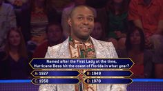 Wednesday, can Jonathan Walker weather the storm of this question on an all-new show with host Terry Crews? Do you have the correct #FinalAnswer? Does Jonathan? Find out if he's got the game to get rich. Go to www.millionairetv.com for time and channel to watch Wednesday's #MillionaireTV!