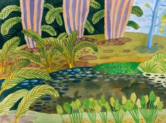 jennifer tyer | In Out - Out/About: Jennifer Tyers, Tropical Gardens
